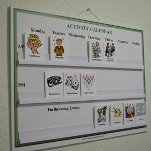 Holmer Manor Care Home activities timetable